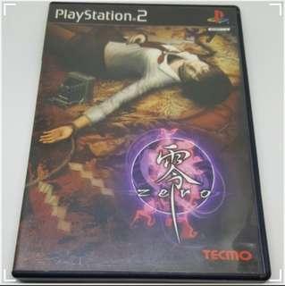 中古 PS2 playstation 2 games TECMO 恐怖 冒險 遊戲 零 Zero