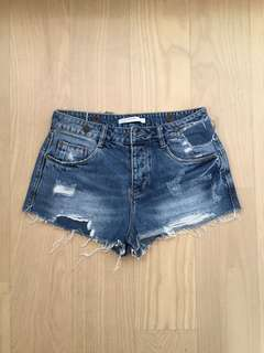 Zara Denim Hotpants 牛仔短褲
