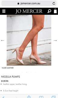Jo Mercer Nigella Pumps - size 6