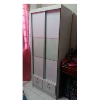 White Wardrobe Sliding Door