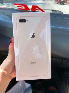 Iphone 8 plus 64gb brand new