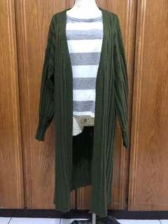 🚚 針織 長版 外套
