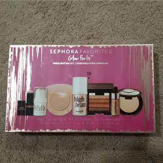 Sephora  Favorites - Glow for it highlighting kit