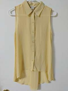 Sans souci sleeveless blouse small