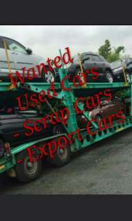 Wanted Used & Scrap Cars