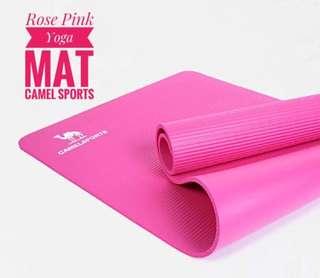 Rose Pink Yoga Mat