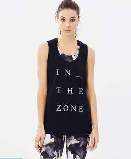 Running Bare - In the Zone tank top