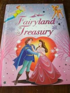 Preloved Children's book. Fairyland Treasury