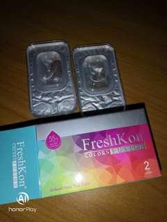(FREE POS) FreshKon colours fusion misty grey