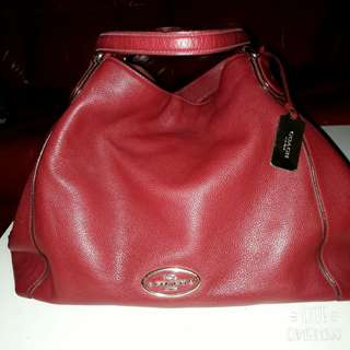 Coach Hand Bag Red