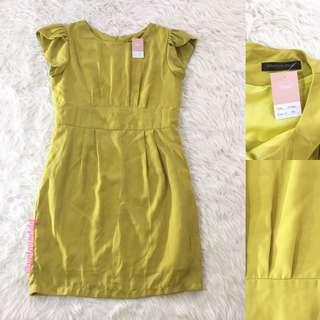 VL5849 Little match girl lime green dress