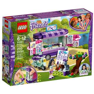 LEGO Friends 41332 - Emma's Art Stand (RRP: RM97.90)