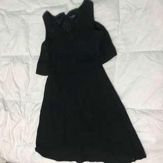 Black dress zalora