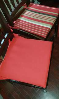 6 pieces - Chair pillow covers