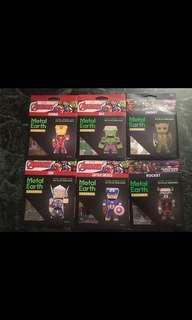 Metal Model Kits (6 totals)