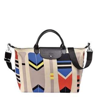 c5cc796cfd Authentic Longchamp Paddle Travel Bag