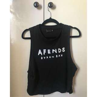Afends Crop singlet