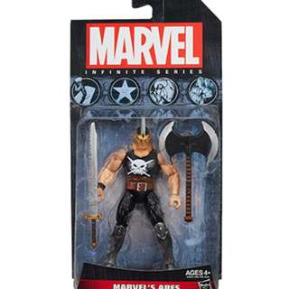 "Marvel Avengers Infinite 3.75"" Series Ares, Northstar and Wonder Man MOSC"