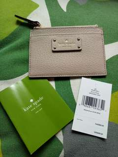 Authentic Kate Spade card holder-free shipping!