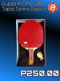 Friendship One Star Table Tennis Racket
