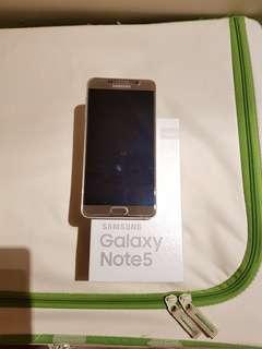 Samsung Galaxy Note 5 64GB Platinum Gold