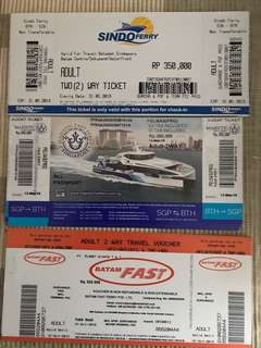 🚚 Batam Ferry Tickets - E Tickets and Physical Tickets
