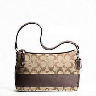 Coach Signature Top Handle Handbag (small)