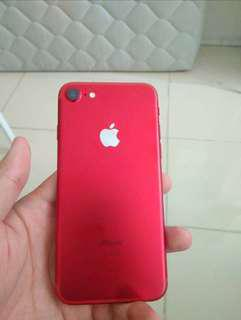 Iphone 7 red 32