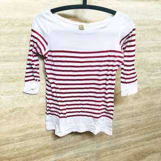 🚚 Rtp$39 pull and bear sailer stripe top