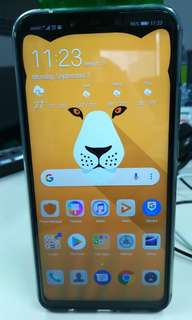 Slightly used Huawei Nova 3i