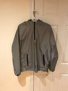 Forever 21 Reflective Anorak Jacket