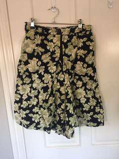 Hand made coulette shorts