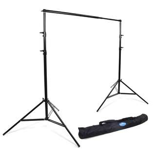 rental loan backdrop portable 200cm stand telesopic