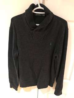 Grey Polo Ralph Lauren Cardigan