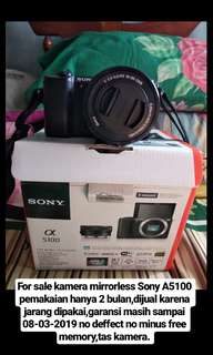 For sale sony A5100