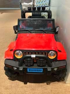Electronic toy car