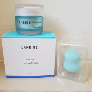 LANEIGE WHITE DEW TONE UP CREAM