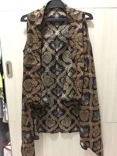 Batik long outer