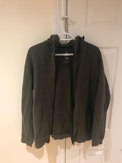 Olive Green American Eagle Jacket