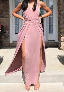 Fashion Nova Mauve Dress