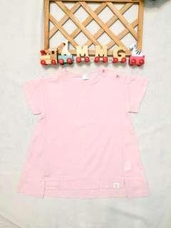 🚚 現貨💡韓國KC認證童裝×粉色長版上衣