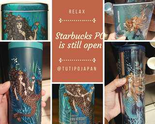 [PO Japan Ready 15 Sept] STARBUCKS JAPAN SIREN SPECIAL EDITION ANNIVERSARY