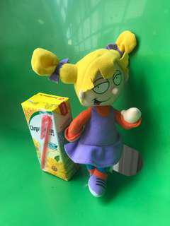 Angelica Pickles of the Rugrats soft toy