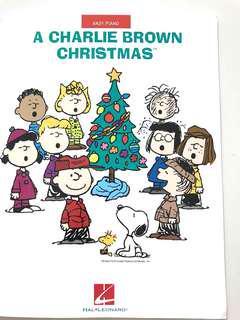Piano book- A Charlie Brown Christmas