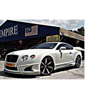 BENTLEY CONTINENTAL GT MULLINER 4.0 ( A ) V8S TWIN TURBO NEW FACELIFT !! 2 DOOR COUPE WALD BISON BODYKIT !! SPORT LIMITED EDITION !! PREMIUM HIGH SPECS COMES WITH POWER BOOT & ETC !! ( BXX 55 ) 1 VVIP OWNER !!