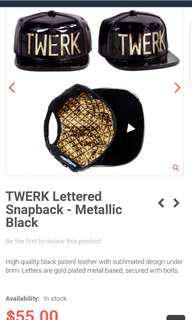 Hater snapback cap