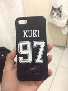 Case BTS (Kuki 97) untuk iphone 5s