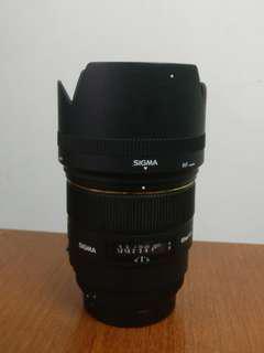 Sigma 85mm f1.4 EX DG HSM non art CANON mount