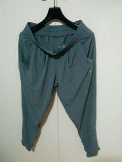 Blue gray joggers size:s