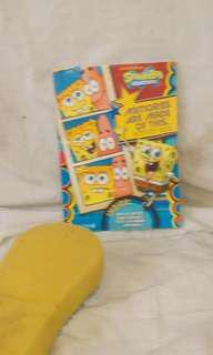Spongebob memory book and activity